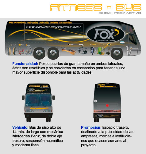 FITNESS BUS - SHOW ROOM ACTIVO