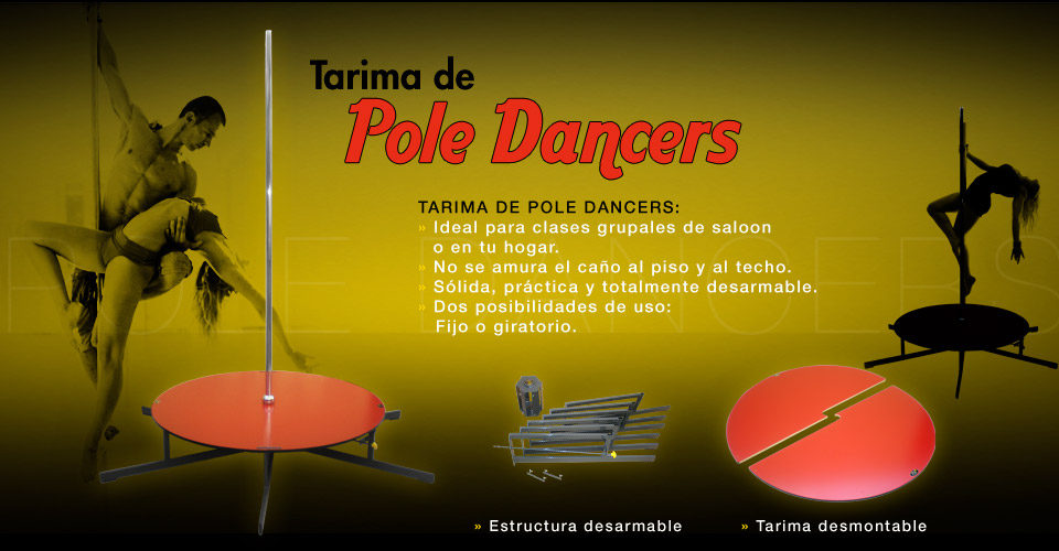 Tarima de Pole Dancer